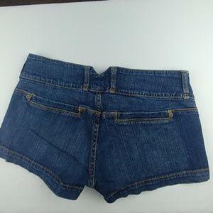 anchor blue Shorts - Boho Booty Jean Shorts